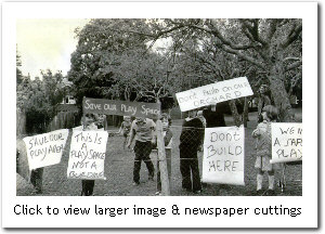 The orchard protest of 1980